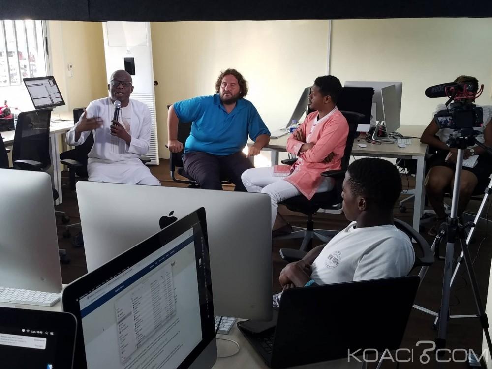 Côte d'Ivoire: L'école informatique NaN reçoit la visite de Alain Capo Chichi et Nicolas Sadirac, deux  experts informatiques