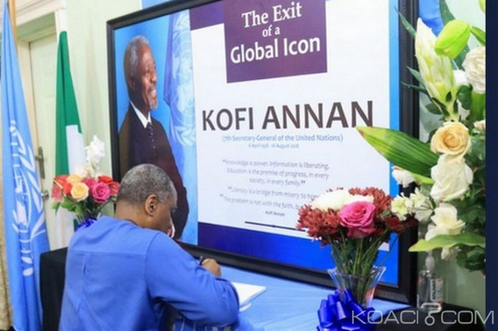 Ghana: Dernier voyage retour de Kofi Annan à Accra le 10 septembre, programme des obsèques