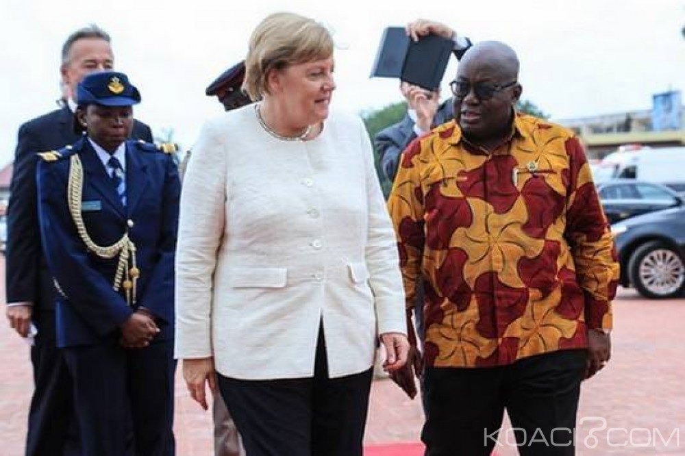 Ghana: Visite de Angela Merkel à Accra, au menu, des échanges bilatéraux et le Togo