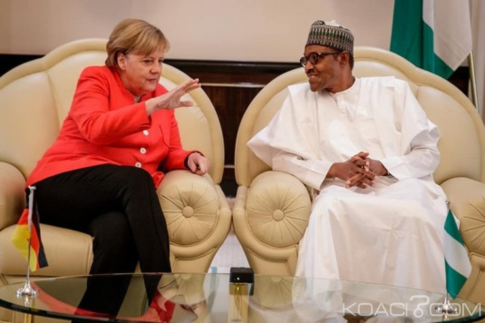 Nigeria-Allemagne: Visite de Merkel, deux protocoles d'accord signés, l'immigration clandestine à contenir