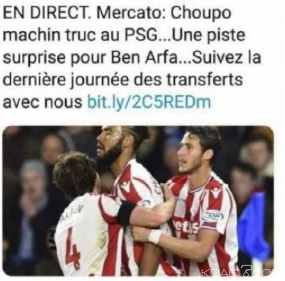 Cameroun: Attaque raciste de la presse française contre le camerounais Choupo-Moting