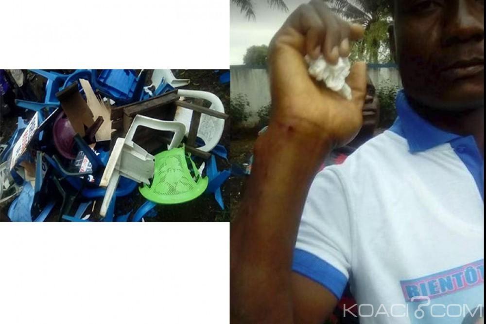 Côte d'Ivoire: Des militants du RDR attaquent violemment un espace de libre-échange des pros Gbagbo à Yopougon, des blessés et du matériel emporté