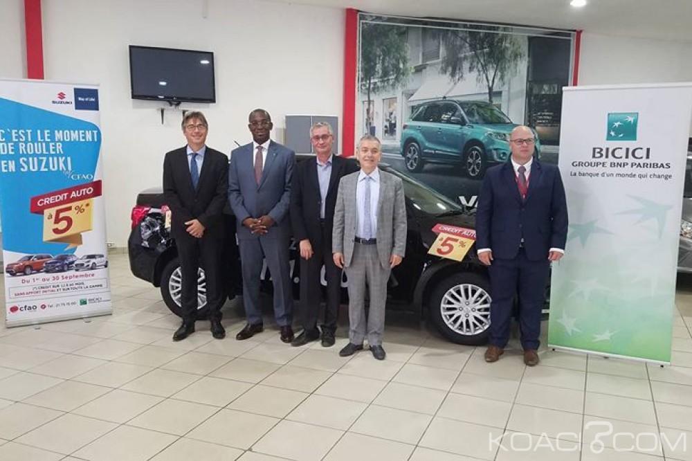 Côte d'Ivoire: CFAO et la BICICI s'associent et proposent des crédits à 5% pour les Suzuki