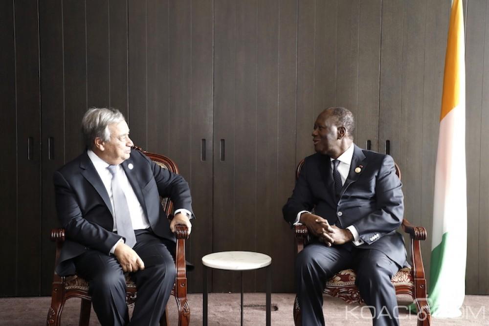 Côte d'Ivoire: En marge du forum en Chine, Ouattara croise du beau monde