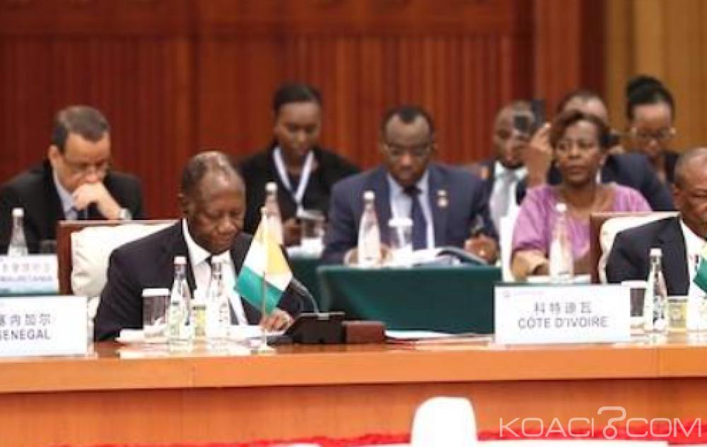 Côte d'Ivoire: Depuis Pékin, Ouattara entend poursuivre sa coopération avec la Chine dans le cadre du développement des infrastructures et matières premières