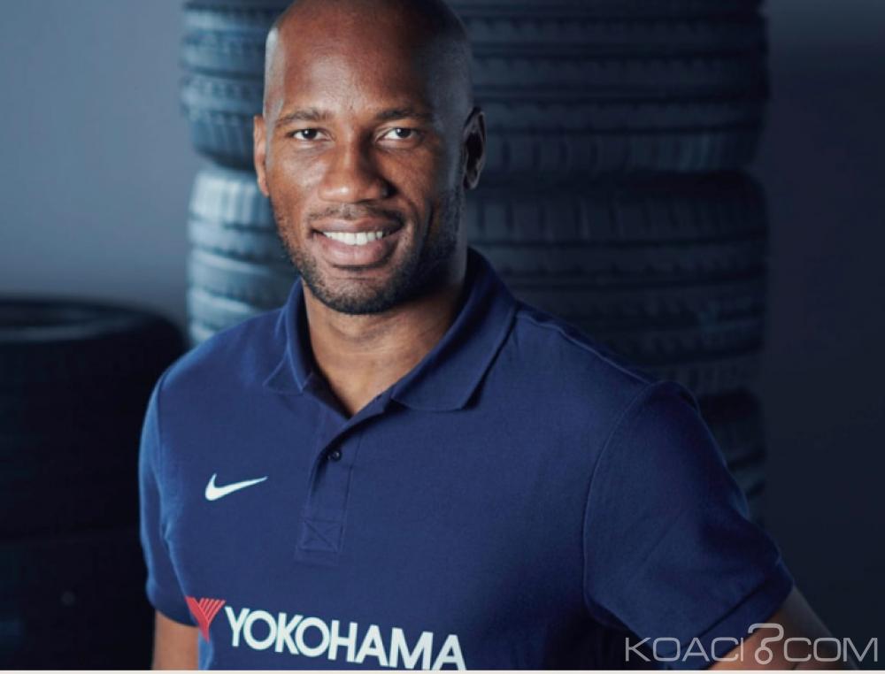 Côte d'Ivoire : Chelsea désigne Drogba comme Ambassadeur de son sponsor Japonais