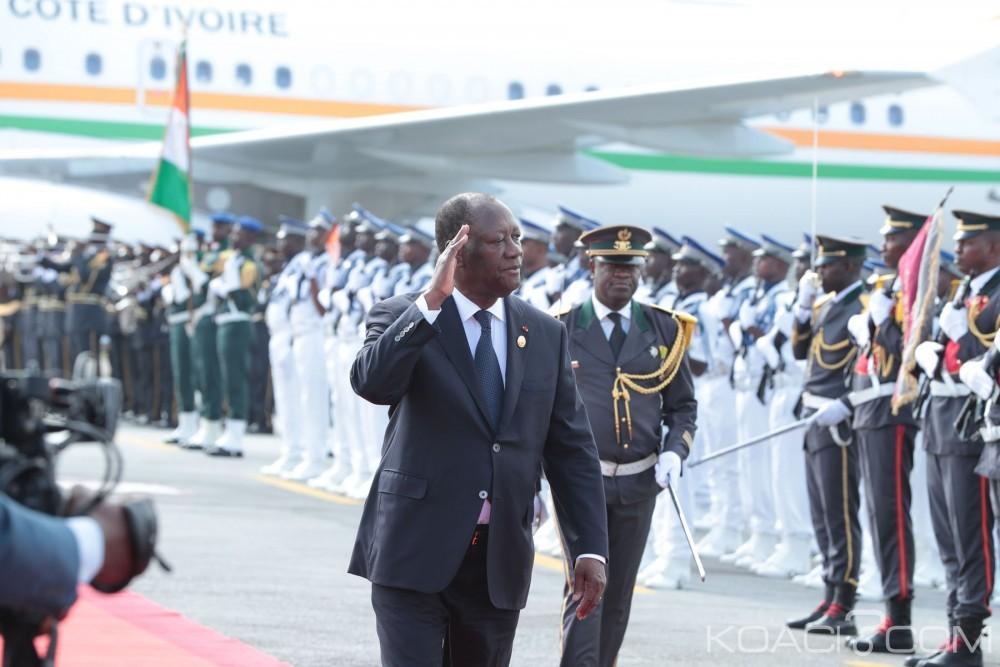 Côte d'Ivoire: Retour de Ouattara à Abidjan, la République sur le tarmac