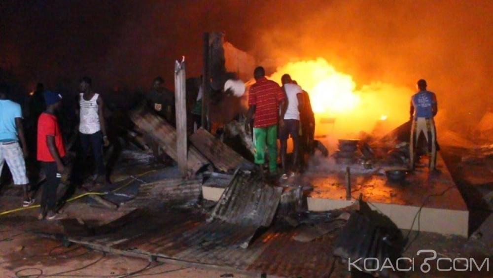 Sénégal: Série d'incendies dans les marchés, après Ziguinchor et Kaolack, Petersen à Dakar ravagé par le feu