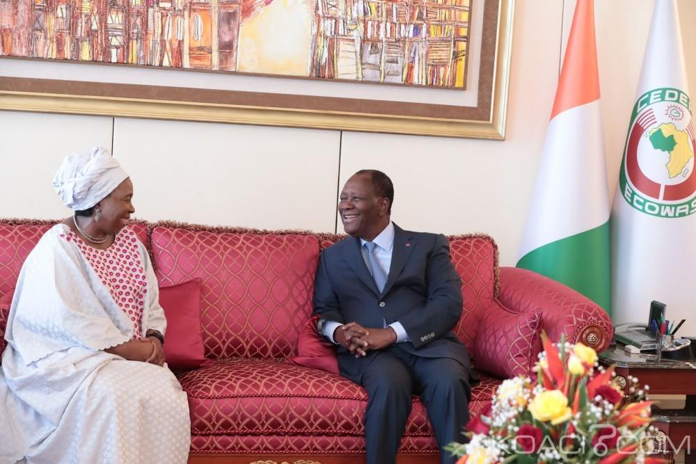Côte d'Ivoire-Afrique du Sud: Ouattara souhaite une visite officielle de Ramaphosa