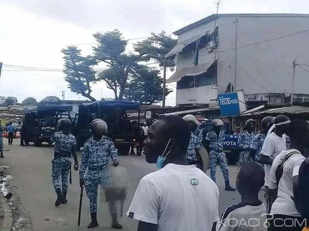 Côte d'Ivoire: Une manifestation des habitants d'Adjamé-village réprimée par les forces de l'ordre, plusieurs blessés enregistrés