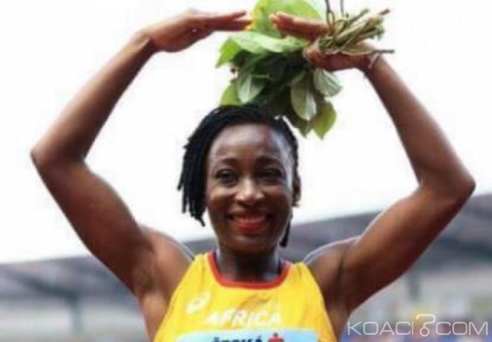 Côte d'Ivoire : Ta Lou, première africaine à remporter une médaille d'or à la coupe continentale
