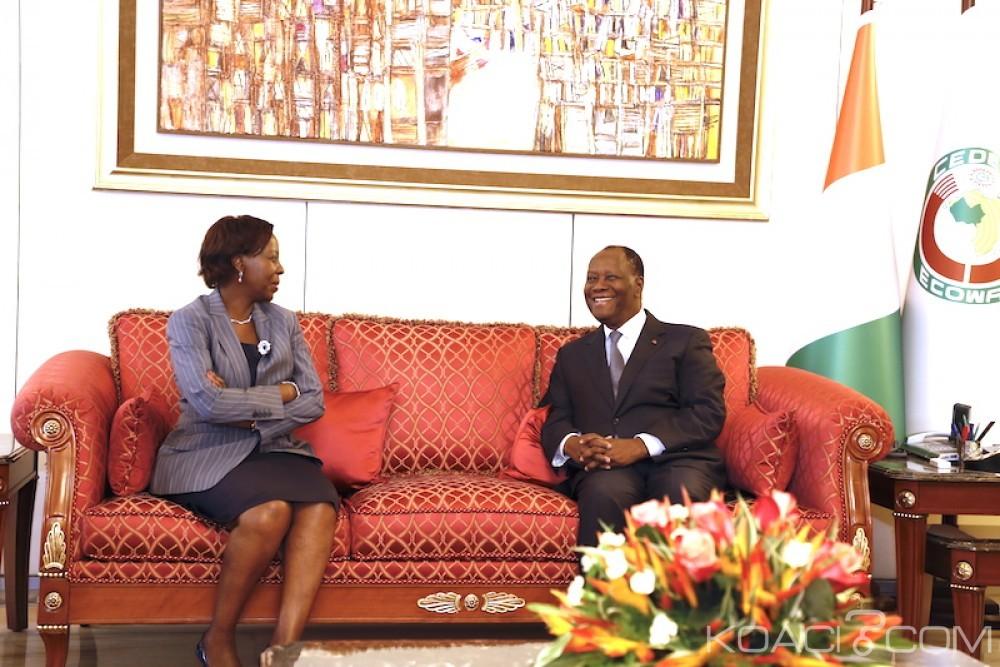Côte d'Ivoire: Ouattara soutient Mushikiwabo pour le secrétariat général de l'OIF