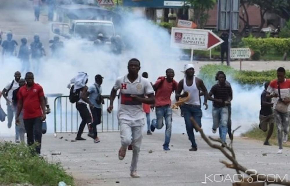 Côte d'Ivoire: «Répression» contre sa manifestation, la FESCI révèle des tirs à «balle réelle» et dénombre des blessés dans son camp