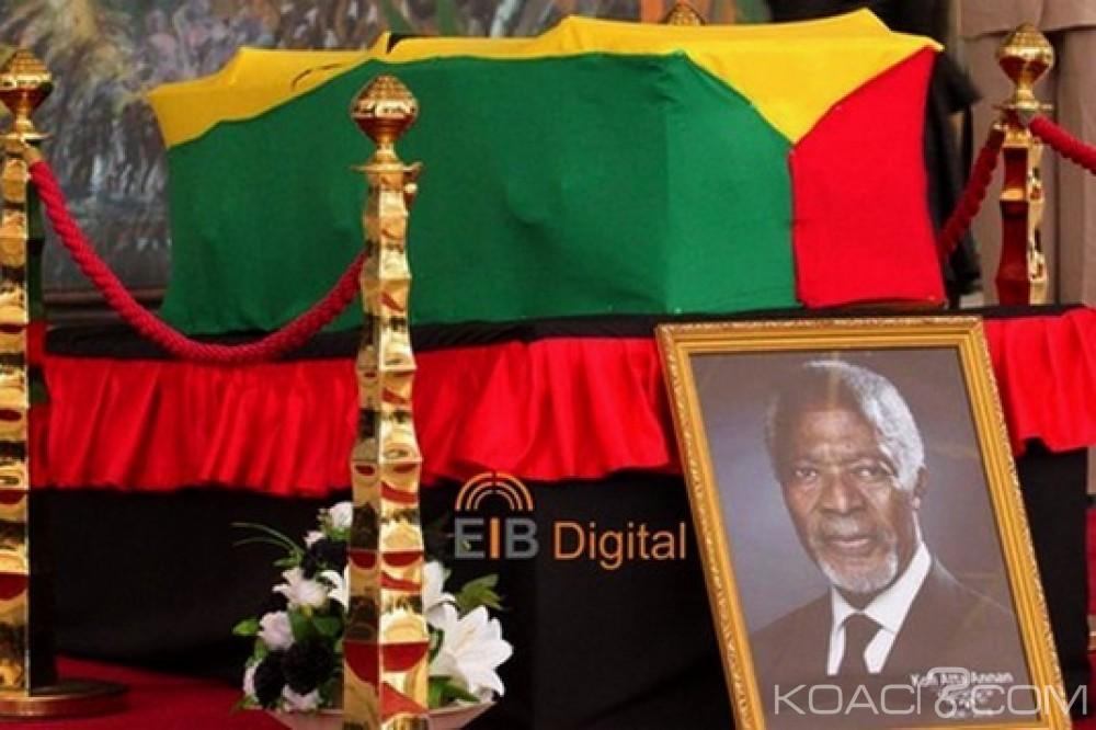 Ghana: Procession et hommages à Kofi Annan, la famille explique pourquoi le public ne verra pas son visage