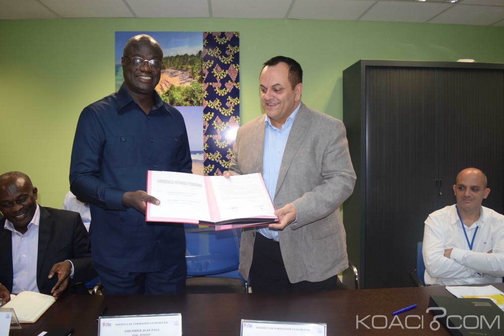 Côte d'Ivoire: Signature d'une convention pédagogique  entre CFAO Retail et INSTEC