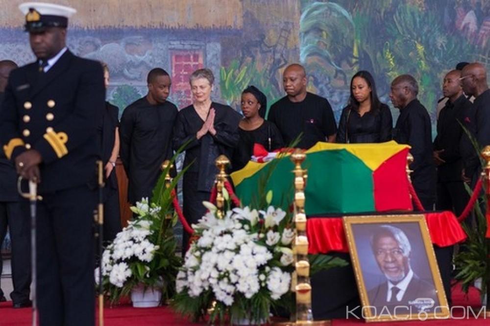 Ghana: Derniers mots des enfants et de la femme de Kofi Annan, inhumation à Accra