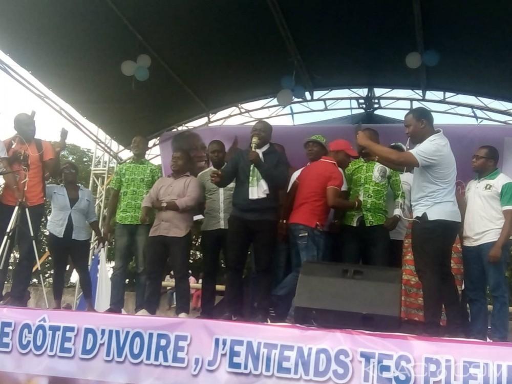 Côte d'Ivoire : Réunie à Anono, la JEDS «le peuple va contraindre Ouattara à réformer la CEI, s'il ne le fait pas, il n'y aura pas d'élections le 13 octobre»