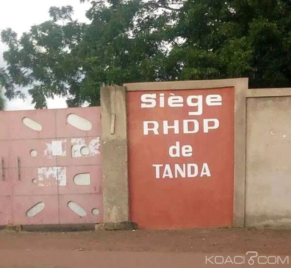 Côte d'Ivoire : Tanda,suite à l'expropriation du siège du PDCI au profit du RHDP unifié, le film de la journée du samedi, relaté par un habitant