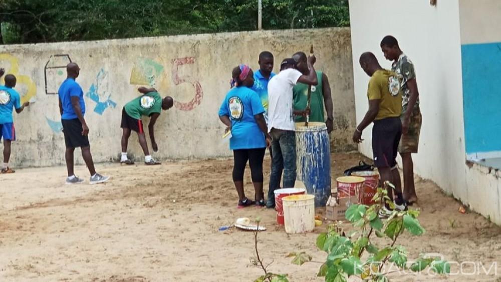 Côte d'Ivoire: Une école primaire publique et une maternelle d'un camp militaire réhabilitées par les hommes de Chérif Ousmane