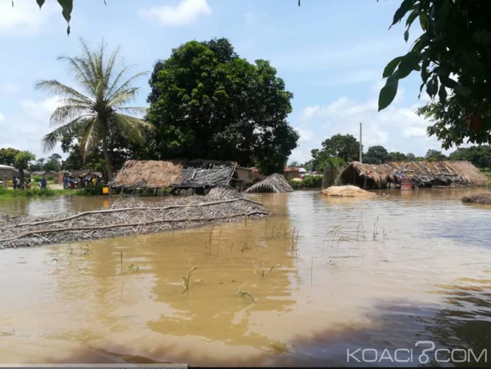 Côte d'Ivoire : Le  Bandama sort de son lit, plusieurs localités inondées