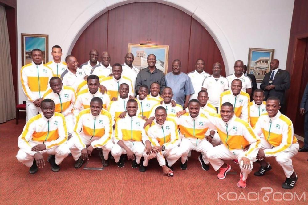 Côte d'Ivoire : Ouattara a échangé avec les éléphanteaux footballeurs à Doha avant de s'envoler pour Paris