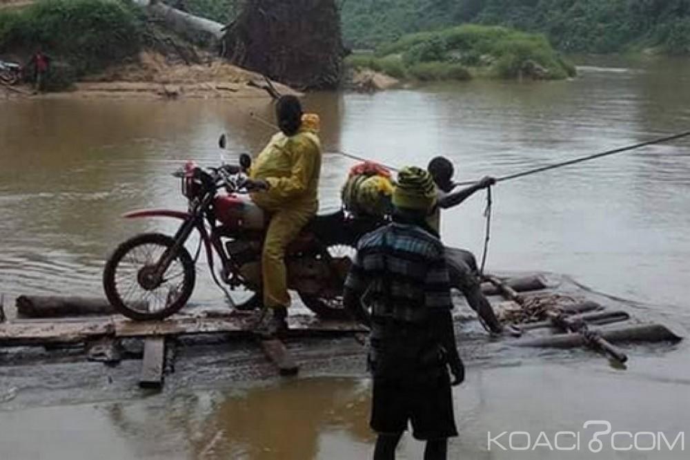 Liberia: Risques et périls pour traverser la rivière Bafo dans le Comté de Grand Kru
