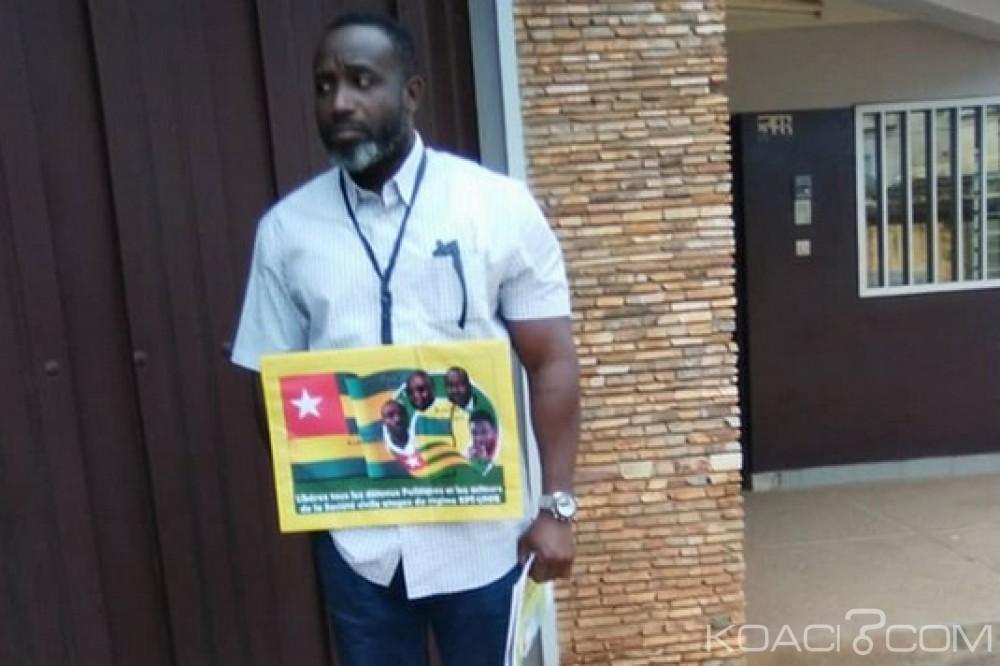 Togo : Retour du gréviste Habia devant l'ambassade du Ghana à Lomé