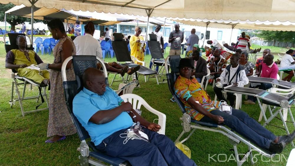 Côte d'Ivoire: Journée  don de sang au CHU de Bouaké