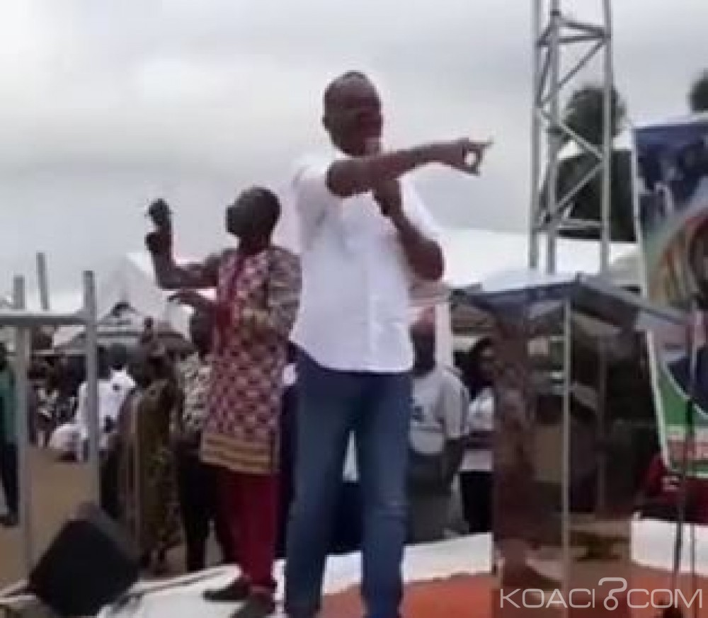 Côte d'Ivoire : Depuis Abobo, Alain Logbognon annonce la mort du RDR à l'occasion de l'investiture du candidat de Guillaume Soro
