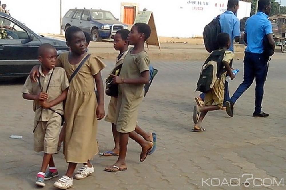 Togo : Jour de rentrée scolaire, découpage de l'année 2018-2019