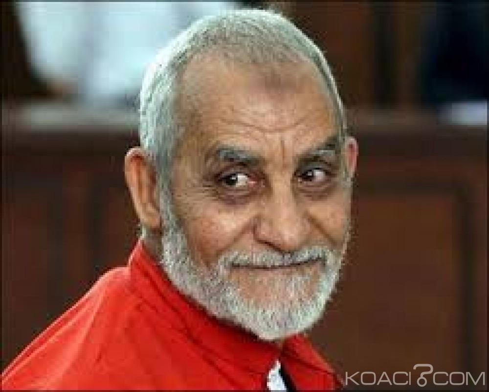Egypte : 66 personnes dont le chef des frères musulmans Mohammed Badie condamnés à la prison à vie