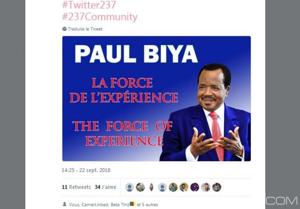 Cameroun : Première élection présidentielle digitale, bataille sans merci sur internet à coup de hashtag