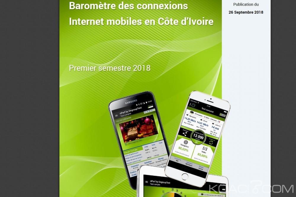 Côte d'Ivoire: Orange s'impose au baromètre des connexions internet mobiles du premier semestre 2018