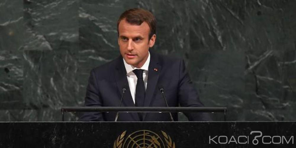 Côte d'Ivoire : A l'ONU Macron évoque la libération de Gbagbo, «Que le droit international soit respecté»