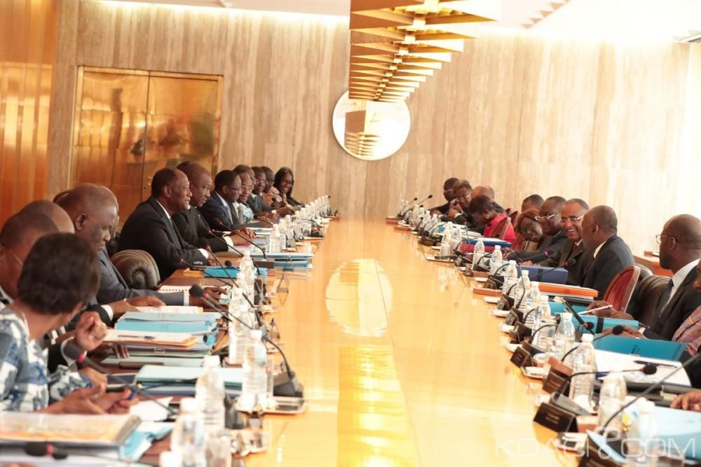 Côte d'Ivoire :  Le gouvernement fixe le budget 2019 à 7334,3 milliards de FCFA en hausse de 578,11 milliards de FCFA