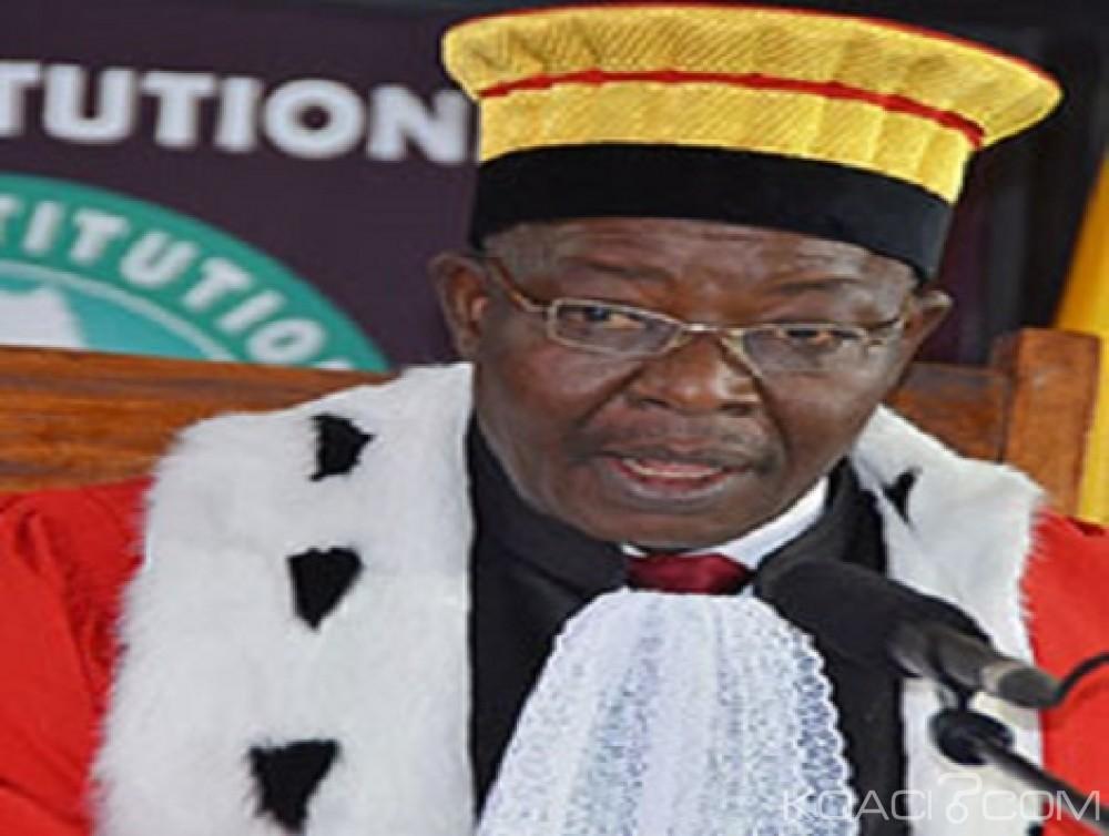 Guinée: Un nouveau Président  de la cour constitutionnelle désigné à la place de  Kéléfa Sall