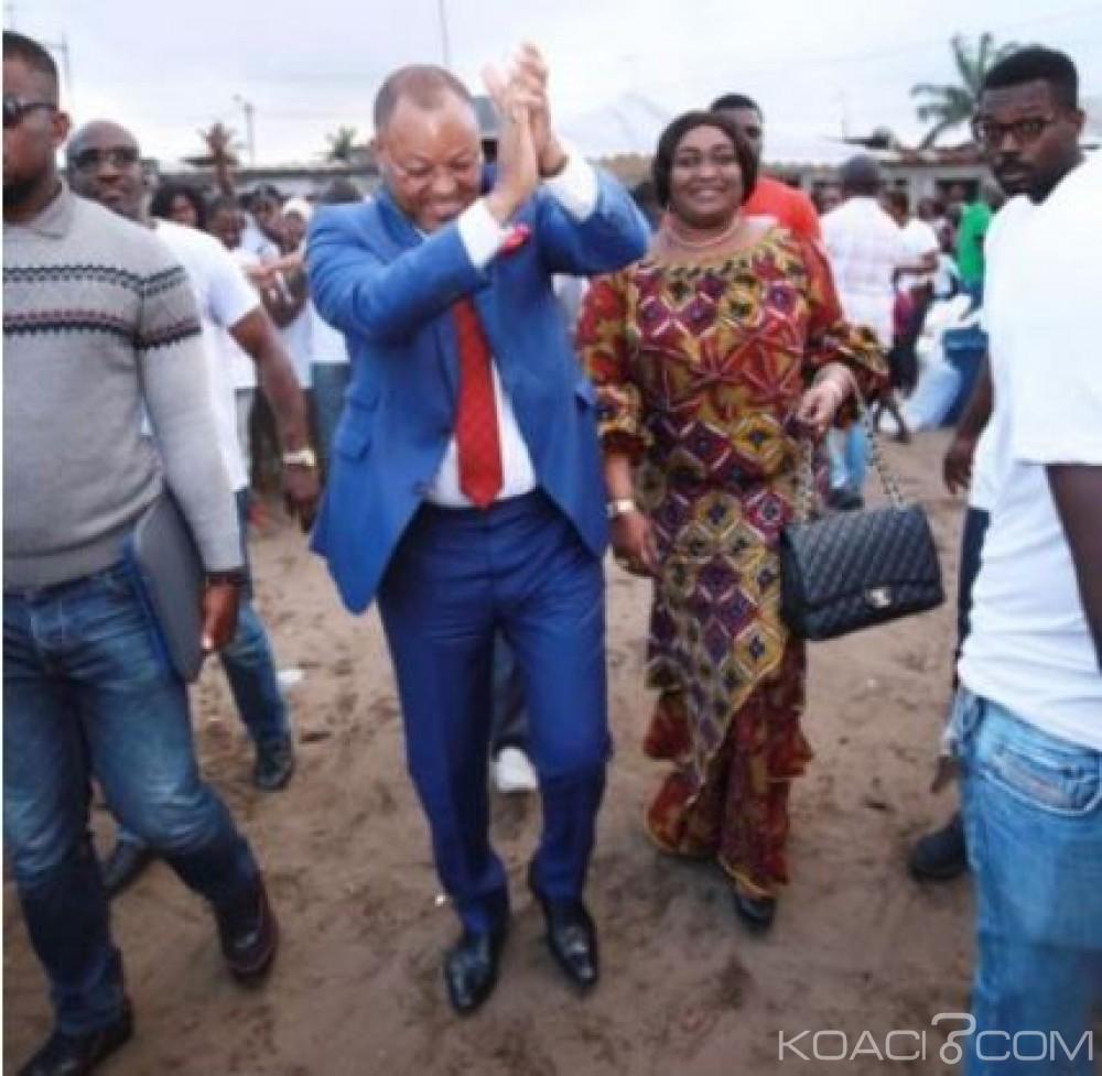 Côte d'Ivoire : Municipales à Marcory, le candidat Georges Monney paye la dette de plus de 2000 propriétaires  de maisons