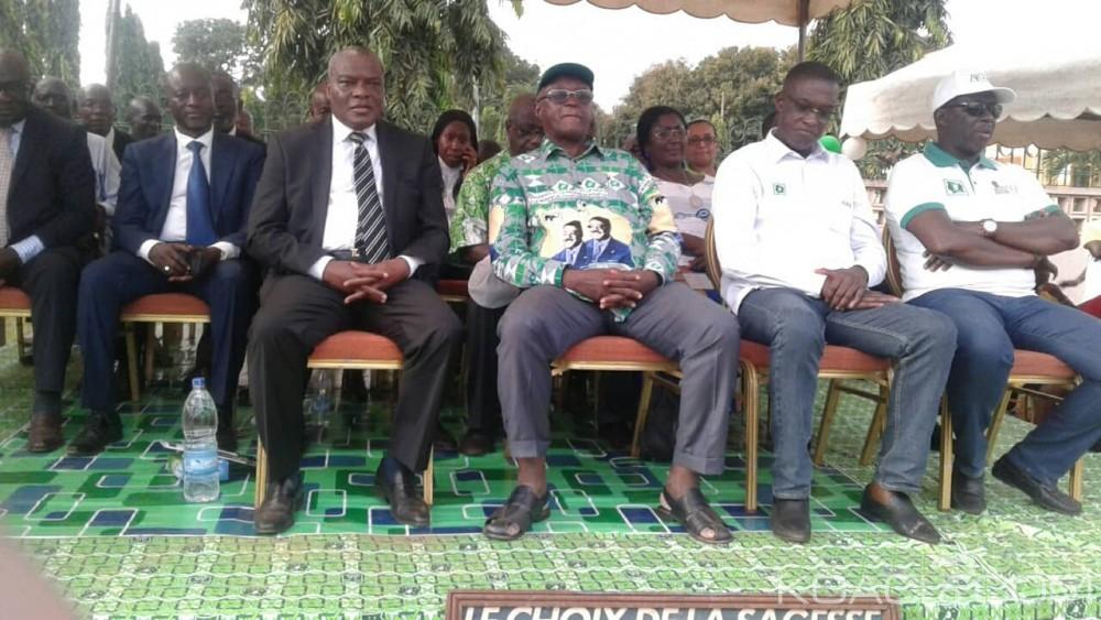 Côte d'Ivoire : Régionales 2018 dans l'Indénié-Djuablin, le FPI et le MFA soutiennent le candidat PDCI pour tenter de battre le ministre Pascal Abinan
