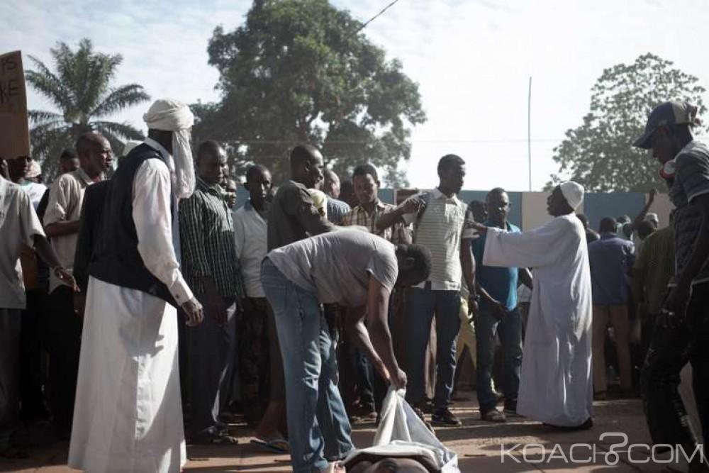 Centrafrique :  Violences au quartier musulman PK5 ,3 morts au moins et deux blessés