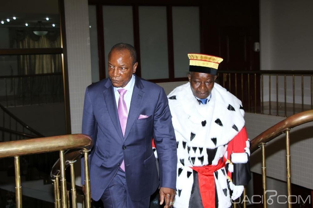 Guinée : Alpha Condé valide la destitution du Président de la cour constitutionnelle