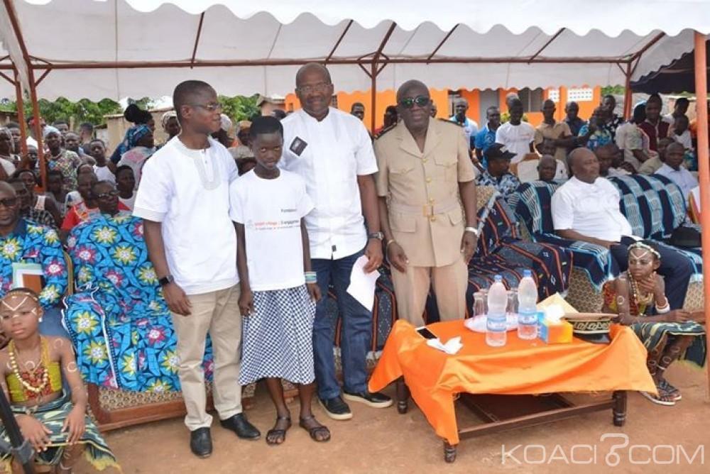 Côte d'Ivoire: La Fondation Orange dote le village de Doumorossi d'infrastructures sanitaires et éducatives