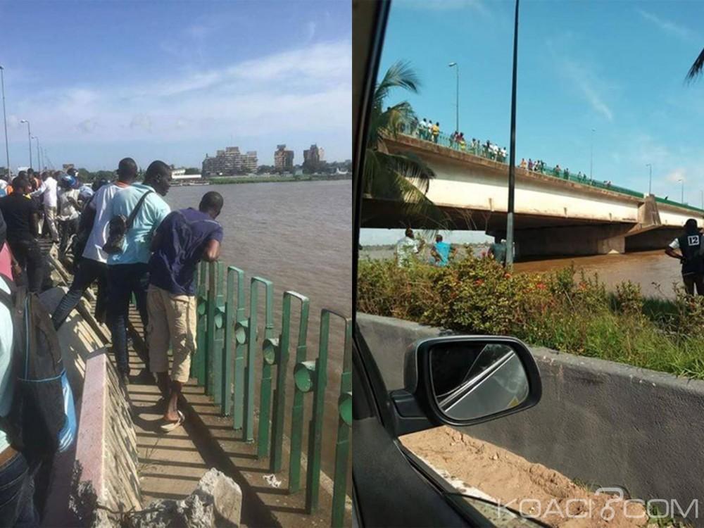 Côte d'Ivoire : Drame sur le pont De Gaulle, une fourgonnette tombe dans la lagune