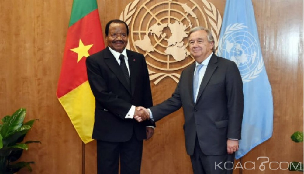 Cameroun : Présidentielle 2018 J-2, Antonio Guterres appelle tous les candidats à la retenue