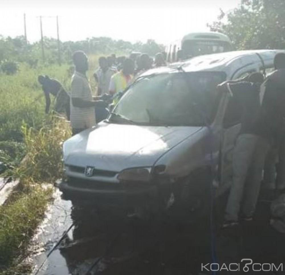 Côte d'Ivoire : À Dabou, une voiture tombe dans le Layo, un mort