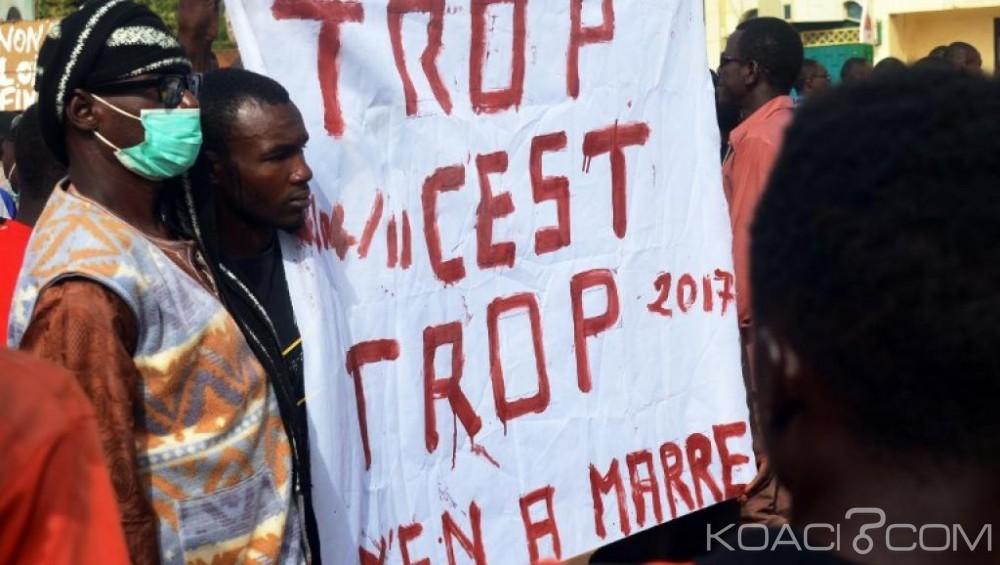 Niger: Nouvelle manifestation à Niamey contre la loi des finances 2018