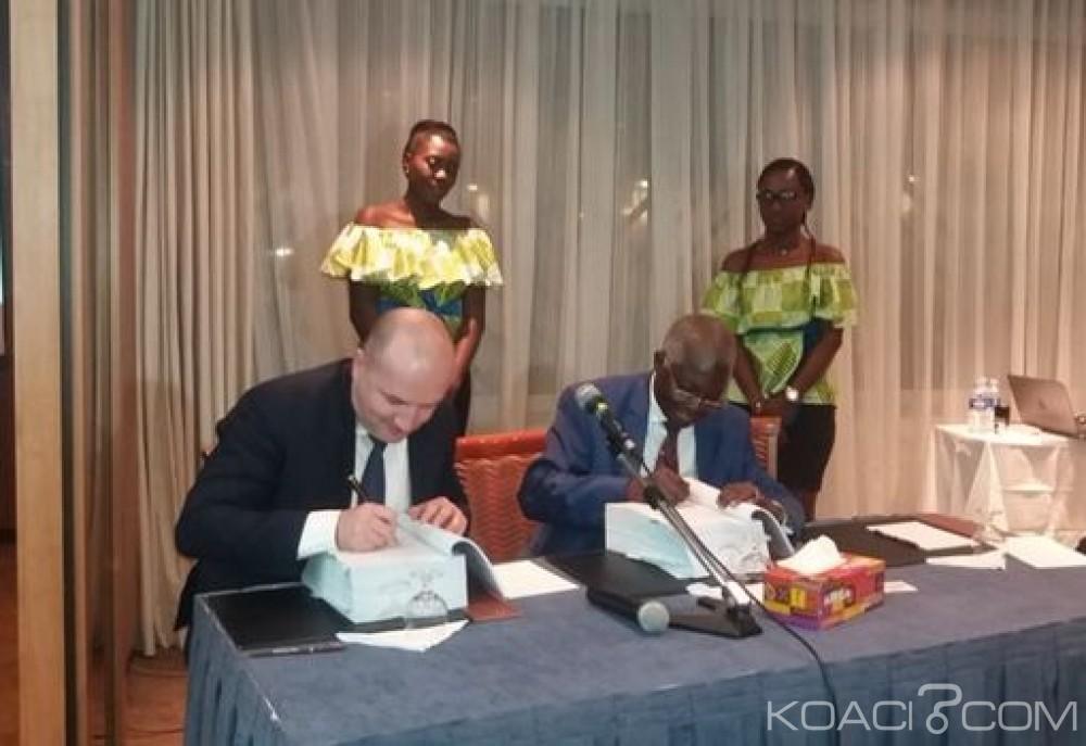 Côte d'Ivoire : Centrale hydroélectrique de Singrobo-Ahouaty, IHE et Eiffage signent un contrat de conception-construction