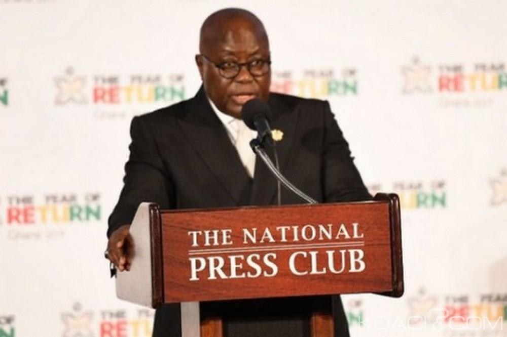 Ghana-USA : Proclamation de 2019 comme l'année de retour de la diaspora africaine