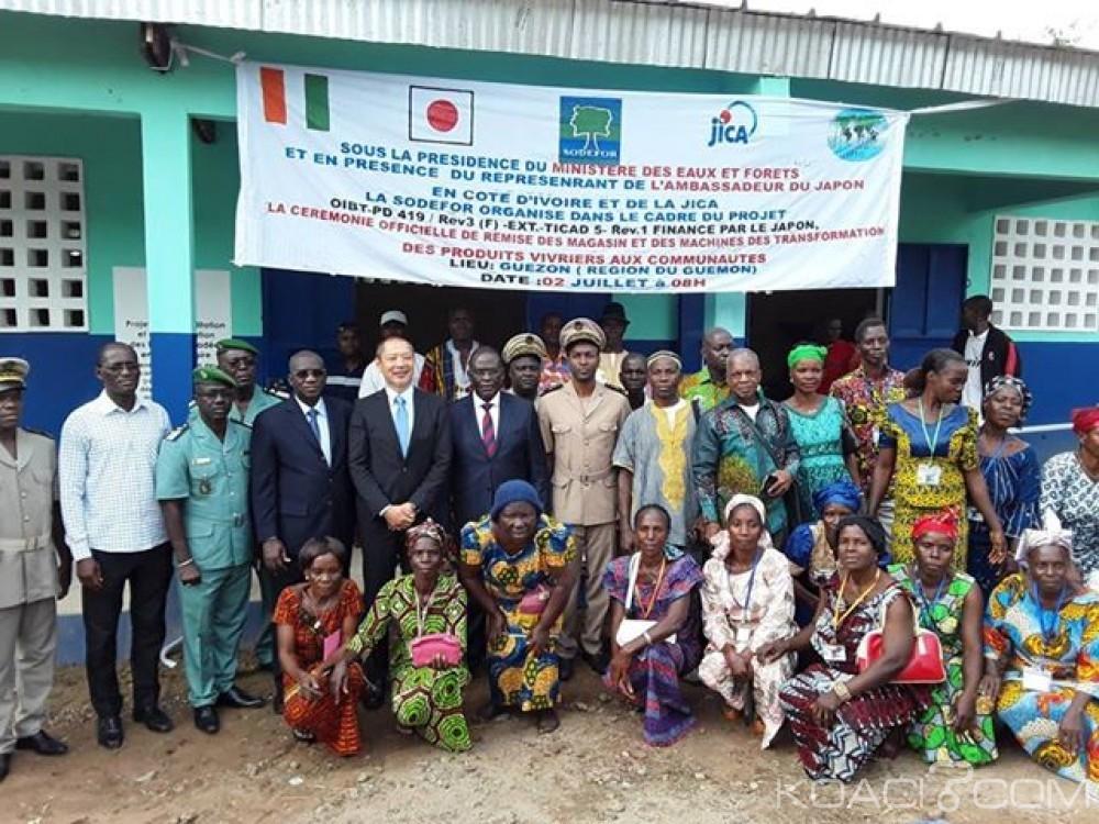 Côte d'Ivoire : Guémon et Cavally, un projet de réhabilitation et restauration des forêts dégradées financé à plus de 2 millions de dollars US par le Japon