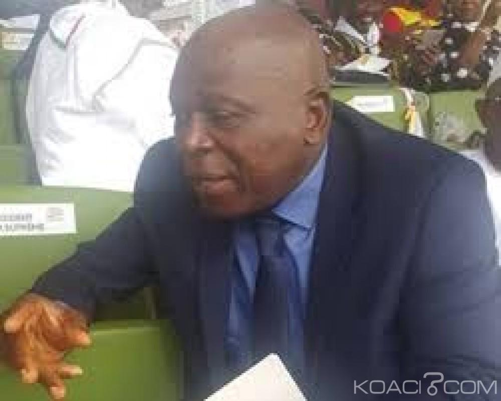 Guinée:  Le nouveau Président de la cour constitutionnelle  prend ses fonctions en l'absence de Kéléfa Sall