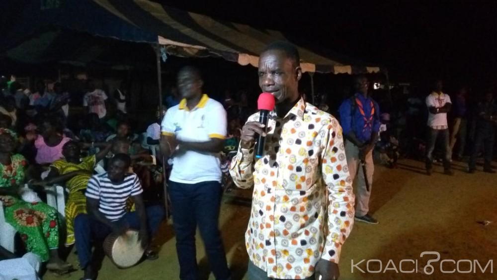Côte d'Ivoire : Locales 2018, depuis Alépé un candidat indépendant appelle les électeurs à se détourner  des vendeurs d'illusions